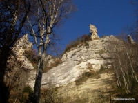 Скальный шпиль Кизиловая балка Кизиловые скалы