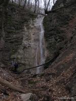 Большой Адегойский водопад водопад