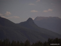 Скалы горы Два Брата вид с отрога г. Агой