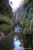 Каньон Додогачей осенью - мало воды ущелье Додогач