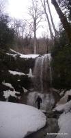 Водопад на Матузке Матузка Водопады зимой