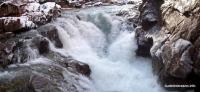 Водослив на реке Белая Гранитный каньон Белая