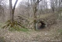 Арка рядом с пещерой Дедова Яма арка карст