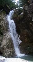 Пальмовый водопад на притоке реки Курджипс водопад Пальмовый