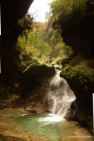 Осень в Сухой балке: водопад Сухая балка