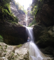 Яворов водопад в Сухой балке Яворов водопад Сухая балка