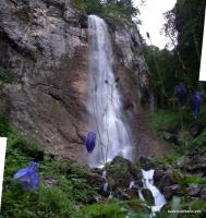 Верхний водопад на реке Ходзь (Орлиный водопад) водопад Орлиный в каньоне Ходзя