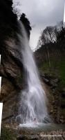 Купание в Орлином водопаде водопад Орлиный Ходзь каньон