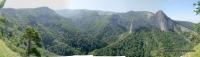 Вид на каньон Ходзя со скалы Опасной каньон реки Ходзь скала Опасная ущелье