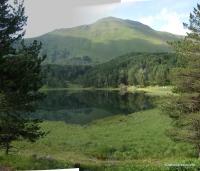 Озеро Хорлакель Старейшее озеро Кавказа