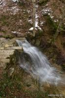Водопад под Кошачьей пещерой водопад Черепаха или Римская Мостовая