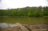 Ручей, впадающий в Самурское озеро Озеро Самурское