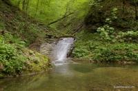 Водопады реки Чабан приток реки Шедока