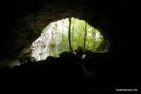 Вход в пещеру Зубащенко пещера