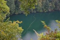 Воды Круглого озера сверху Круглое озеро