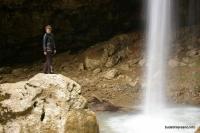 Под Чинаревым водопадом Водопад Чинарев или Школьный