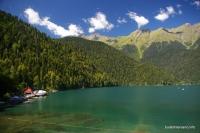 Озеро Рица Рица