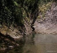 Глубокая заводь на реке Мацесте чайсовхоз Мацестинские водопады