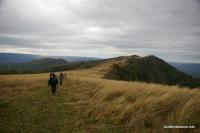 На вершине хребта Дудугуш Луга альпийские Ду-Ду-Гуш Адыгея
