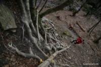 Ступеньки в обход водопадов водопады Кутанки Кутанка Адыгея