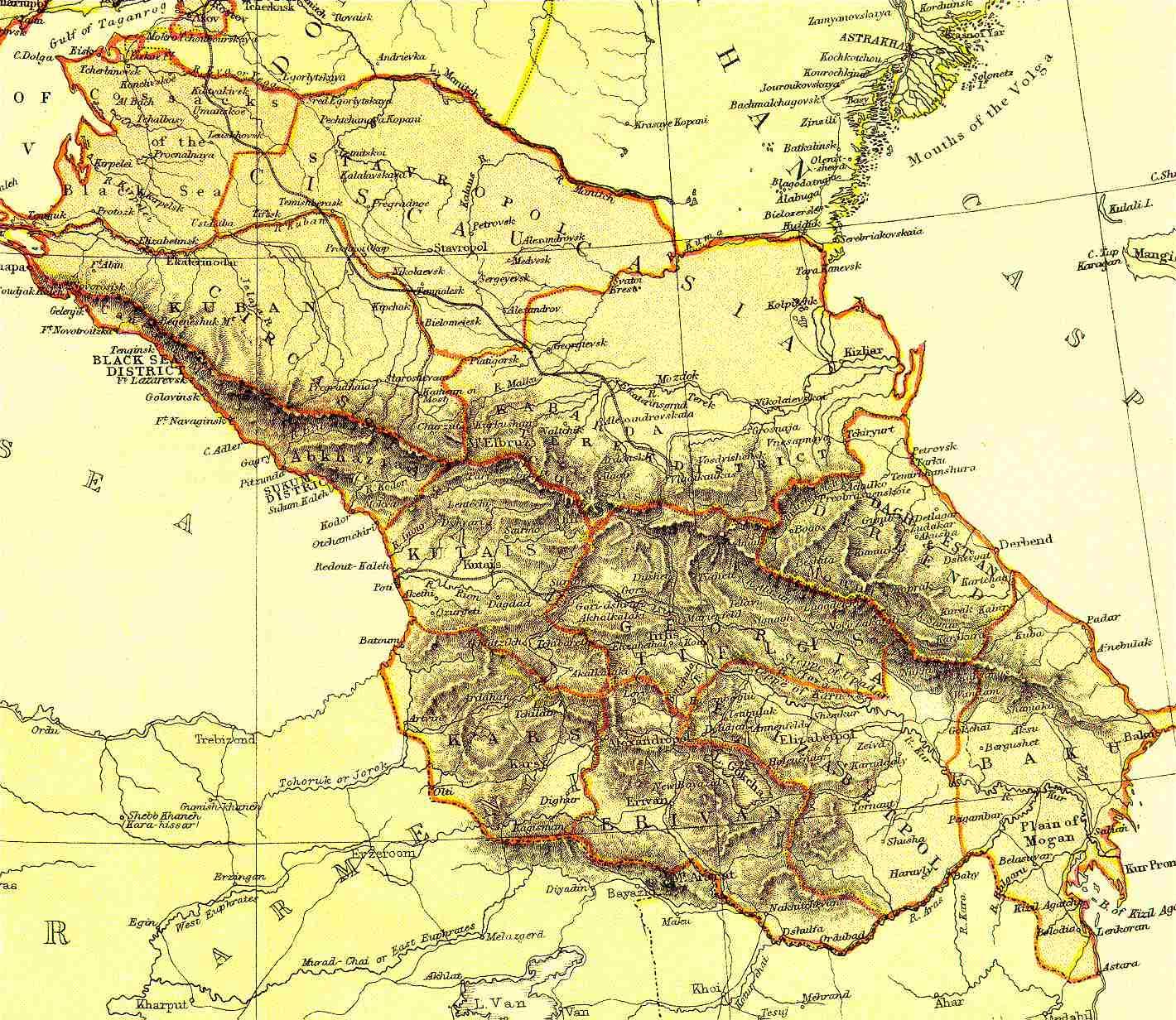 Карта Ялуторовского Уезда