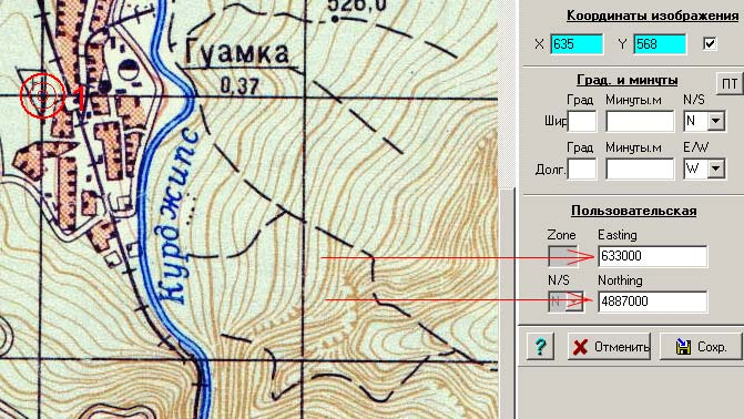 Как сделать карту для ози эксплорер