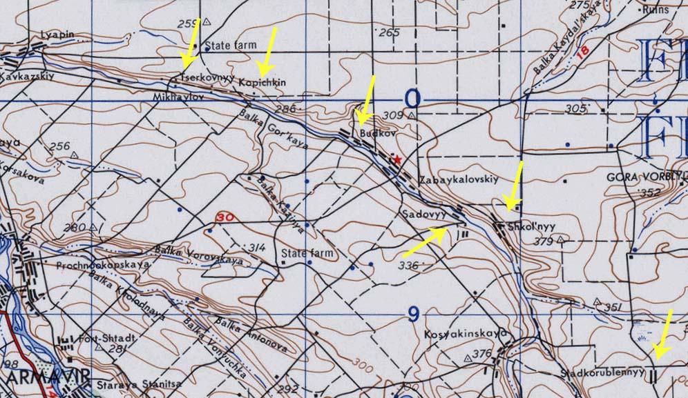Топографические карты армии