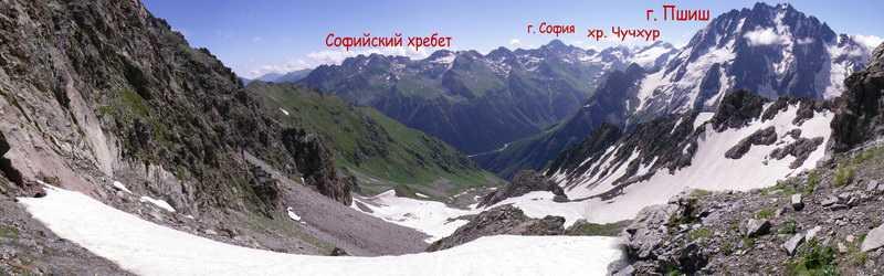 Вид с пер. Дурицкого на восток