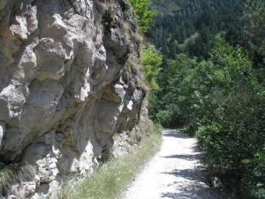Дорога в ущелье Б. Лабы