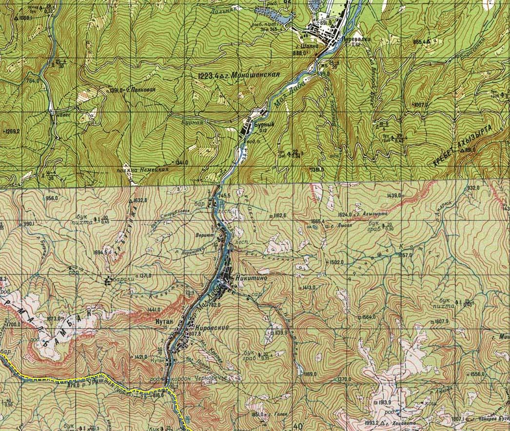 Красная мертвая скала Додогачей Сундуки Шапка гора кордон никитино кордон Черноречье