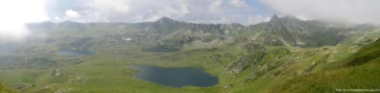 Архыз панорама озер фото