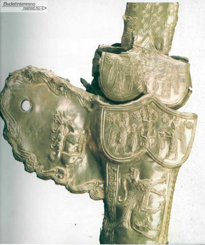 Древнее золото кубани :: курганы vii-v вв. до н.э..